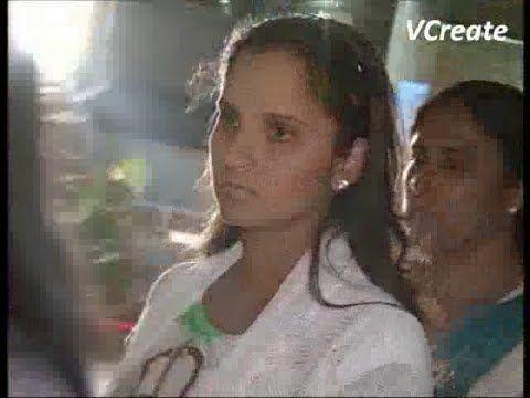 Sania Mirza and Shoaib Malik seen at Cinemax.