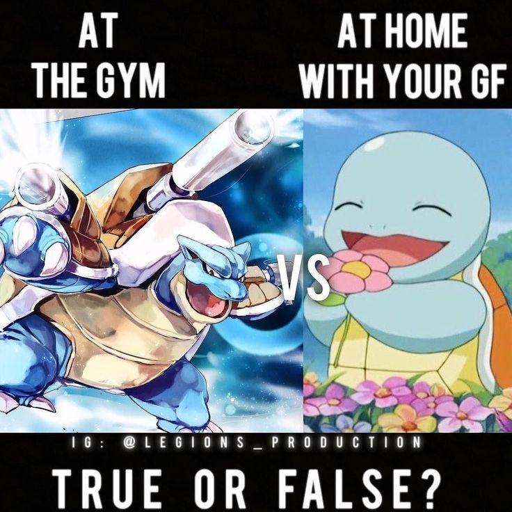 From @legions_production TRUE OR FALSE?  Founder : @king_khieu.  GF = Girlfriend.  Can you relate lmao?  Thoughts? Opinions? What do you guys think?  COMMENT BELOW!  Athlete.  Left: @blastoise.poke.  Right: @squirtlesquad.  TAG SOMEONE who needs to lift!  _________________  Looking for unique gym clothes? Use our 10% discount code: LEGIONS10 on Ape Athletics  fitness apparel! The link is in our  bio! _________________  Principal  account: @fitness_legions.  Facebook  page: Legions…