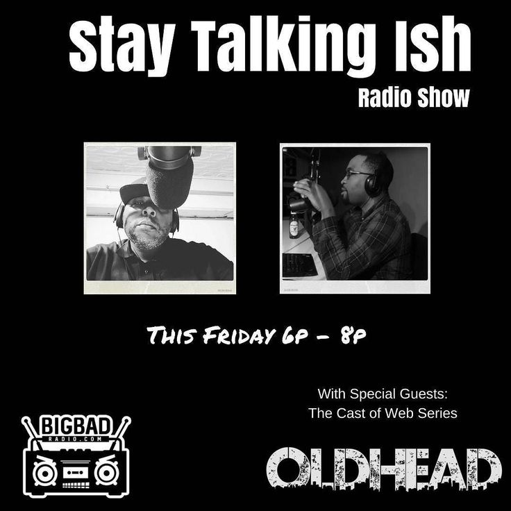 Check out the Stay Talking Ish radio show tomorrow and every Friday 6pm - 8pm on BigBadRadio.com. Or you can download the Android/IOS app.  This week's guest will be the cast of Philly's own web series @oldheadpdx  #staytalkingish #staytalkingishpodcast #staytalkingishradioshow #nofilter #black #blackpeople #truth #followme #onlineradio #philly #phillysupportphilly #phillyrap #hiphop  #westphilly #bigbadradio #real #realhiphop #blackradio  #tonight #hiphop #radio #phillysupportphilly…