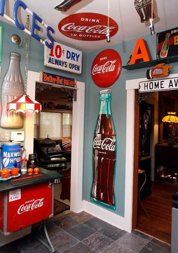 Image detail for -with the tall Coca-Cola bottle on the far wall of
