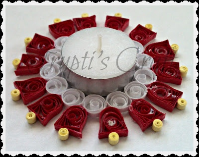 Trupti's Craft: Candle Holders