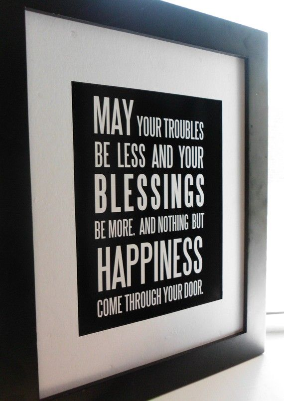 25 best ideas about gaelic blessing on pinterest - House warming blessing ...