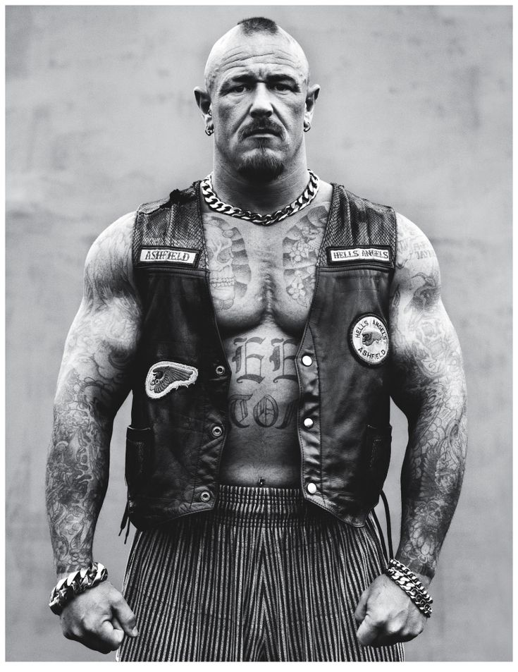 Andrew Shaylor's Hell's Angels Portraits Reveal Softer Side To Biker Gang