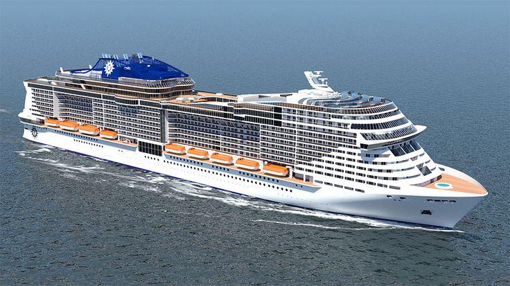 New MSC Cruises Ship Rendering – MSC Cruises Announces Two New Cruise Ships | Popular Cruising (Image Copyright © MSC Cruises)