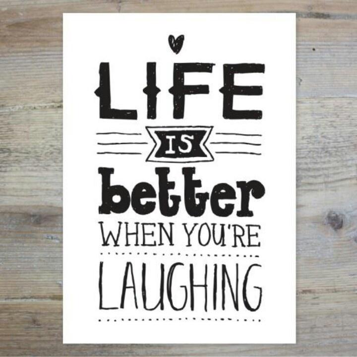 Lachen ist die beste Medizin!