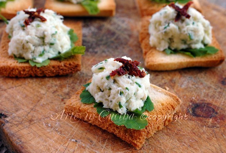 Creamed codfish appetizer Christmas Eve recipe vickyart art in the kitchen