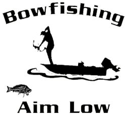 Bowfishing Decals \x3cb\x3edecals\x3c/b\x3e sporting supply