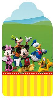 Mickey Mouse Tag