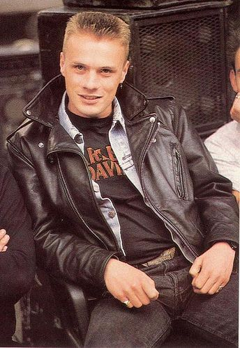 Larry Mullen, Jr. - what a cutie