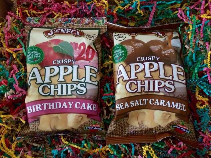 Outnumbered 3 to 1: NEW Apple Chip Flavors From Seneca Snacks are Yum!...