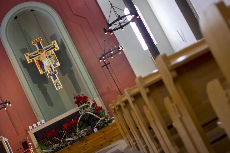Wnętrze dominikańskiego kościoła św. Jacka w Rzeszowie  #dominikanie #rzeszów #op #jacek #kościół #wnętrze #świątynia #modlitwa