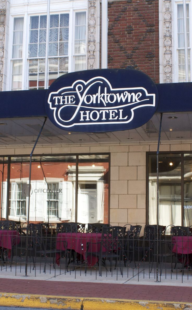 The Yorktowne Hotel | Travel | Vacation Ideas | Road Trip | Places to Visit | York | PA | Historic Site | Restaurant | Hotel