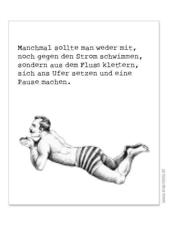 Sonja Egger schwimmt gegen den Strom | Sonja Egger, Illustration, Handgemachtes, Bastelanleitungen