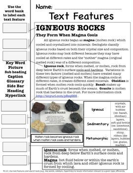 3rd Grade Earth Science Rocks and Minerals: This 50 page unit has everything you will need to teach for 2-3 weeks on rocks and minerals.