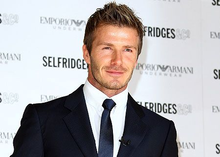 David Beckham, you are the most beautiful soccer player I know.