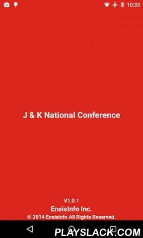 J & K National Conference  Android App - playslack.com , The Jammu & Kashmir National Conference (JKN) is a State political party in the Indian state of Jammu and Kashmir. Led at the time of Indian independence in 1947 by Sheikh Abdullah, it dominated electoral politics in the state for many decades. It has been led subsequently by the Sheikh's son Farooq Abdullah (1981–2002) and his son Omar Abdullah (2002–2009). Farooq Abdullah was again made the President of the party in 2009.