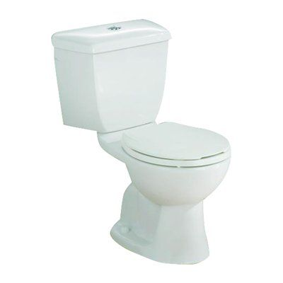 Cheviot 604-BI Dual Flush Toilet - Elongated Font