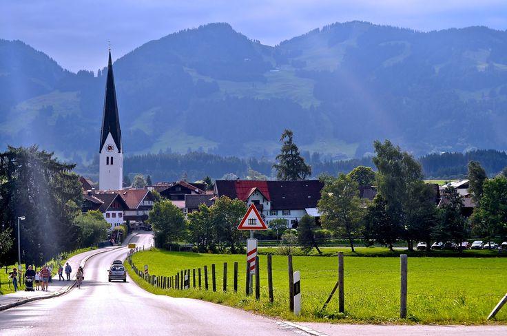 Fischen ~ Allgäu ~ Bavaria ~ Germany