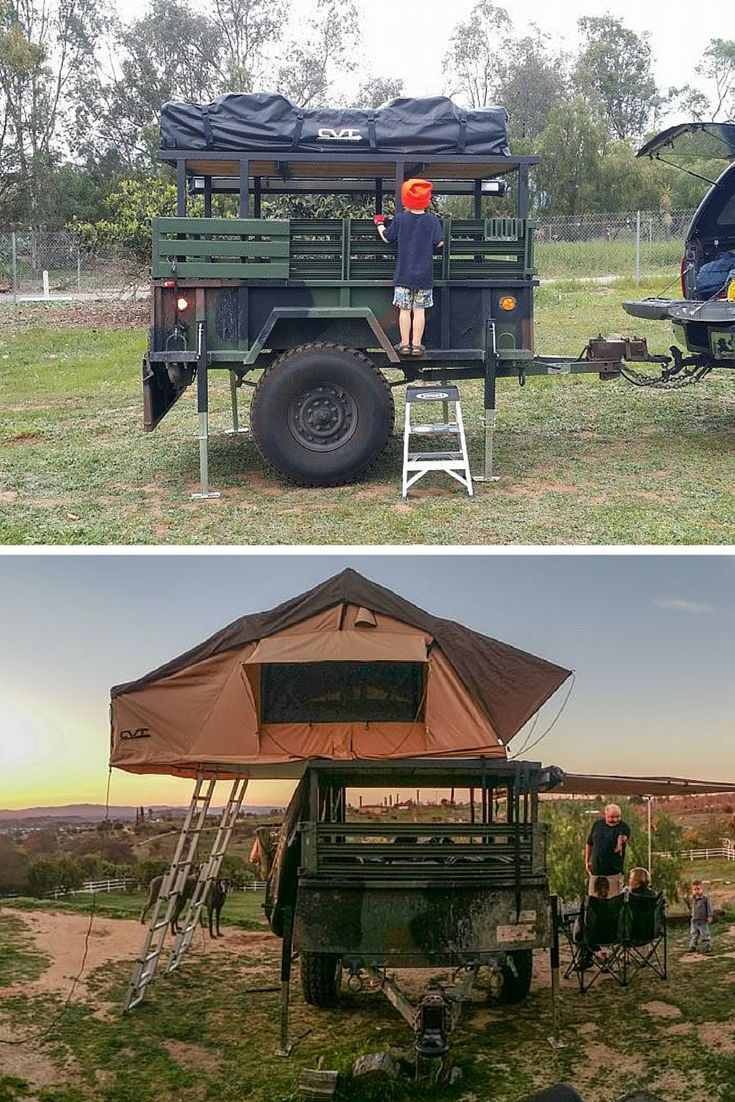 53 Best Images About Military Camping Trailer On Pinterest