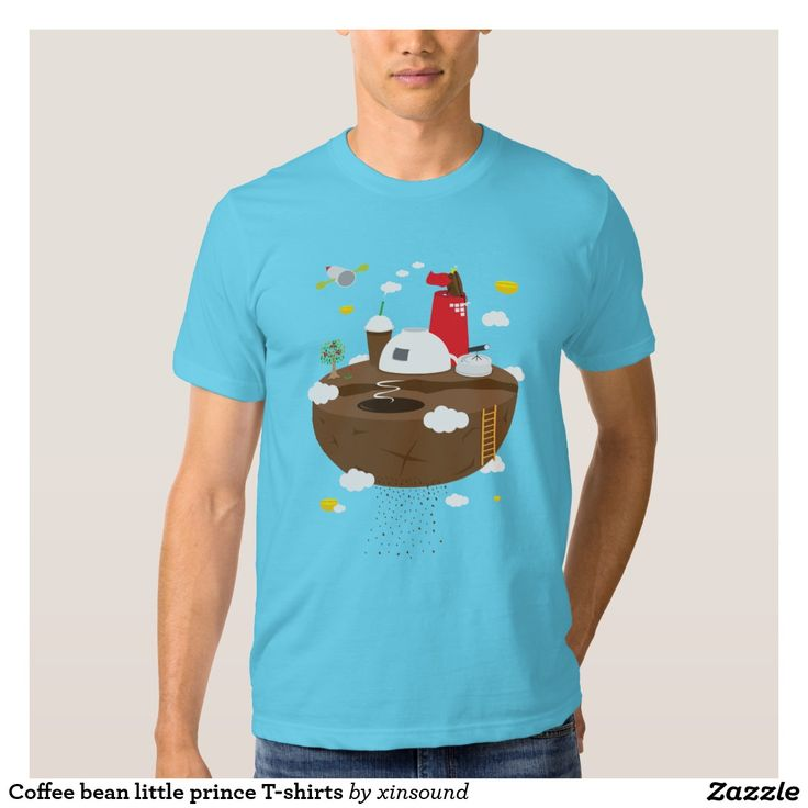 Coffee bean little prince T-shirts
