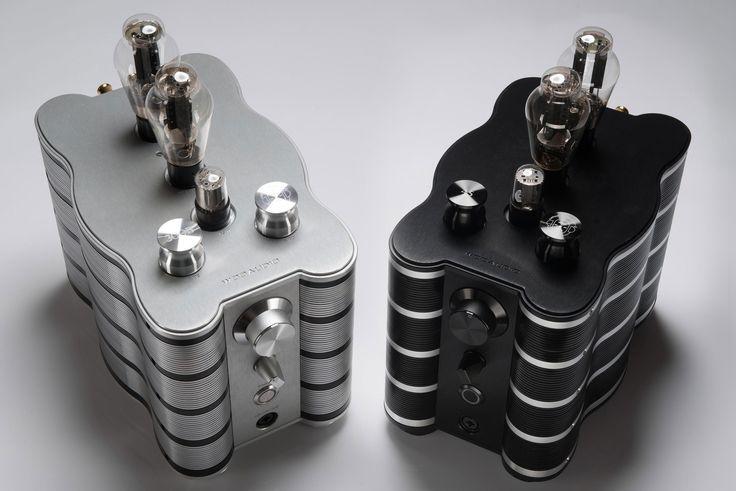 WA-234 Mono Amplifiers Black & Platinum