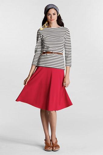 Shop Our Shoots: sporty skirts - Lands' End, Women's Knit Convertible Skirt, $45
