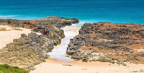 Rocky Shore Bunbury Australia November 2013
