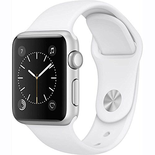 New #Apple #Watch #Series #1 #42mm #Smartwatch (Silver #Aluminum #Case, #White #Sport Band) Activity and Heart Rate Monitoring Changeable Faces with Widgets Siri Integration Displays Notifications and Runs Apps Taptic Alerts #Apple Pay; S1P dual-core processor; Splash resistant https://technology.boutiquecloset.com/product/new-apple-watch-series-1-42mm-smartwatch-silver-aluminum-case-white-sport-band/