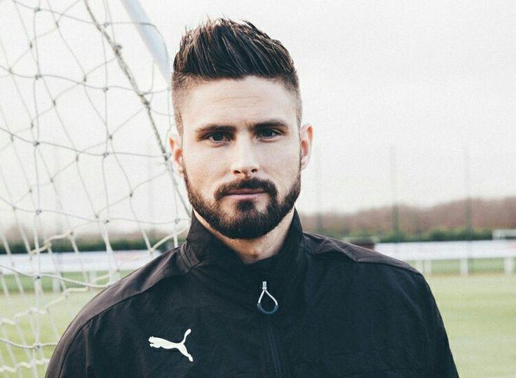 Olivier Giroud (hair & beard)
