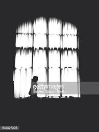 Image result for People Silhouette in window