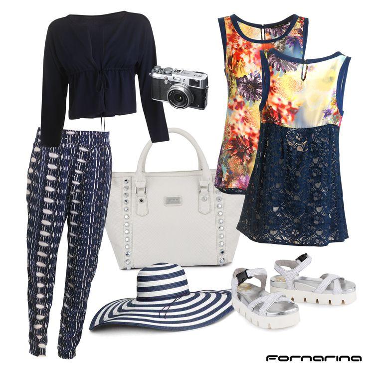 Fornarina styling tips #fornarina #myFornarina #stylingtips #lookidea #fashion #casual #spring