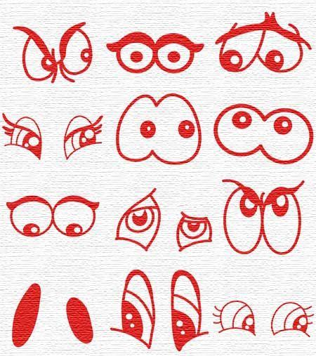 modelos ojos