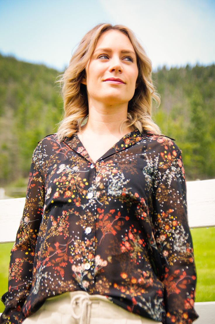 Be Free Floral Blouse - Easy and effortless fashion for feeling good