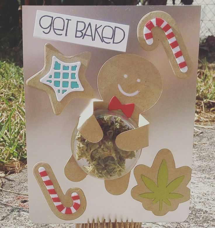 Get Baked for the Holidays - Cannabis Greeting Card by HempmarkGreetingCard on Etsy https://www.etsy.com/listing/481328618/get-baked-for-the-holidays-cannabis