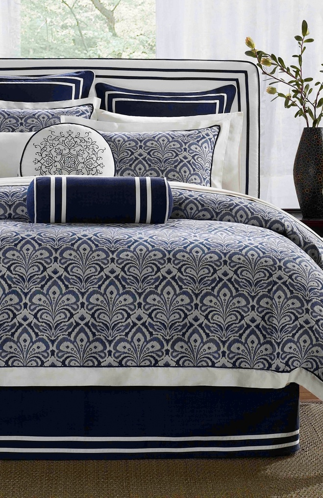 love the bedskirt ... & co-ord tossers. Laurel Bedding Collection