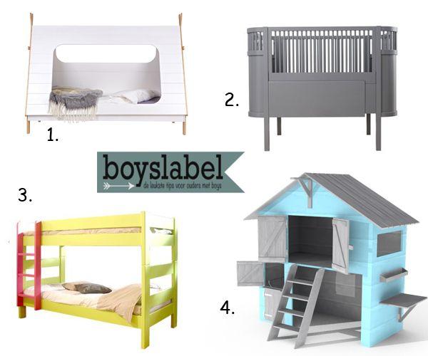 Kinderkamer meubels, jongensbedden, bijzondere kinderbedden, leuke bedden voor kinderen