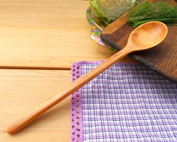 """Помешивая """"примитивная"""" деревянная ложка из сливы,деревянные ложки,деревянные ложки,кухонные,резные деревянные ложки,деревянная посуда,смешивая ложкой,ложкой"""