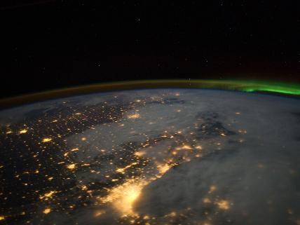 Chicago Metropolitan Area.  Via: NASA