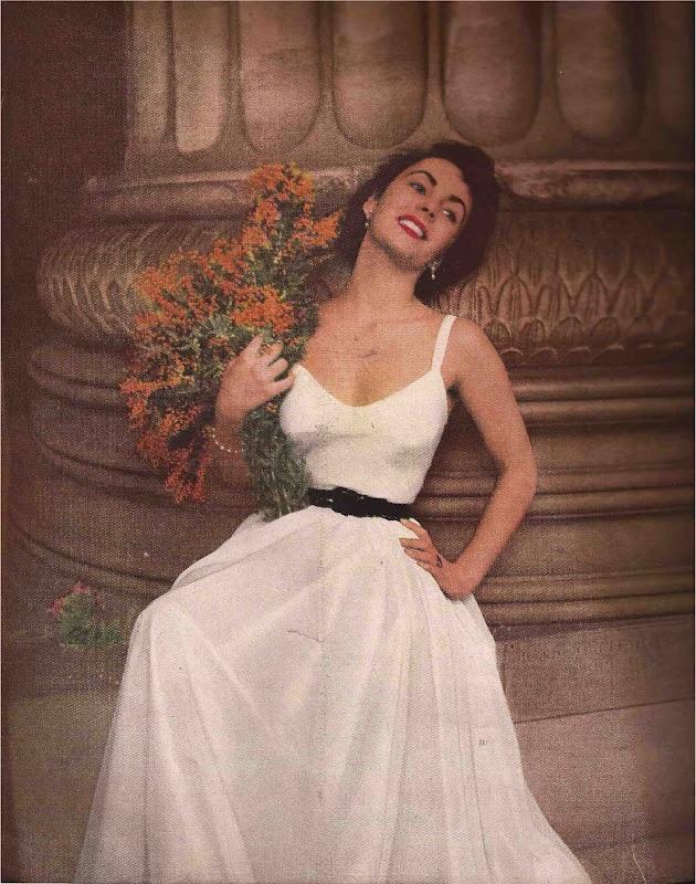 Elizabeth taylor white dress