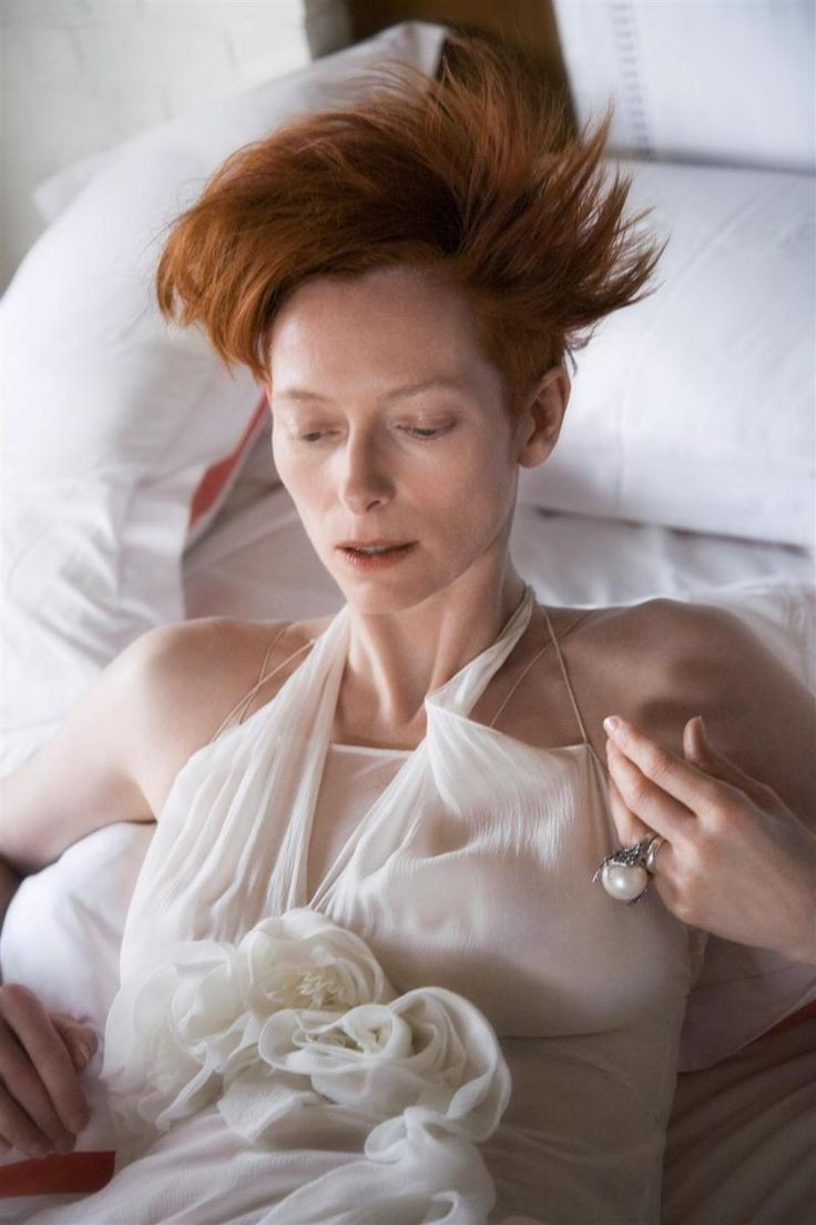 Tilda Swinton for Comme de Garçons, photographed by David Armstrong