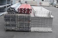 195,25 m² gebrauchtes Alugerüst mit Alu-Robustböden Layher MJ Assco(131070)