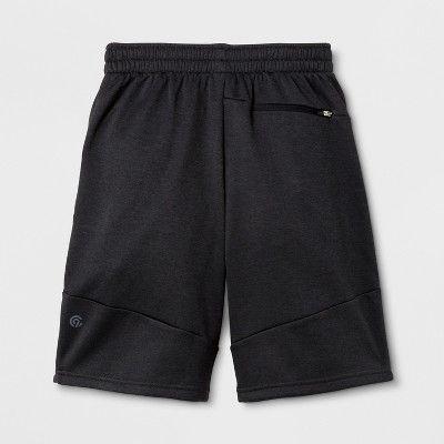 Boys' Tech Fleece Shorts - C9 Champion - Black Heather M