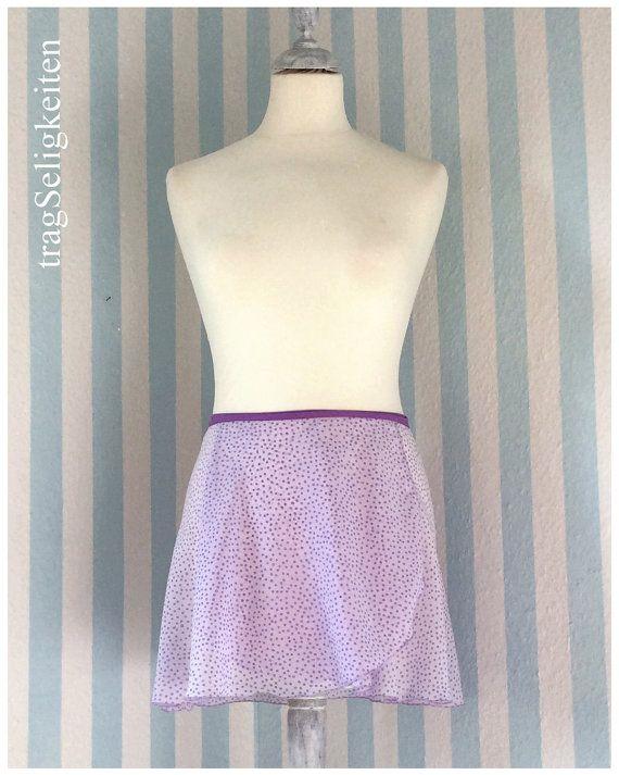 Chiffon ballet skirt extra short dance wrap by tragSeligkeiten