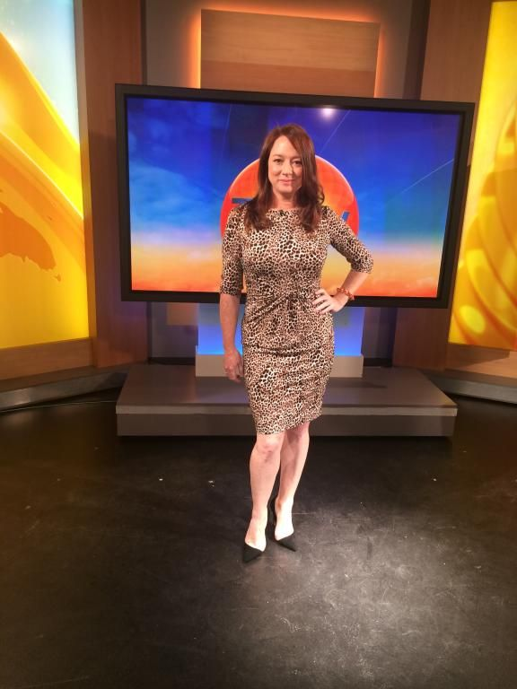 Mandy Mcelhinney on the Today Show in Montique #style #fashion #montique