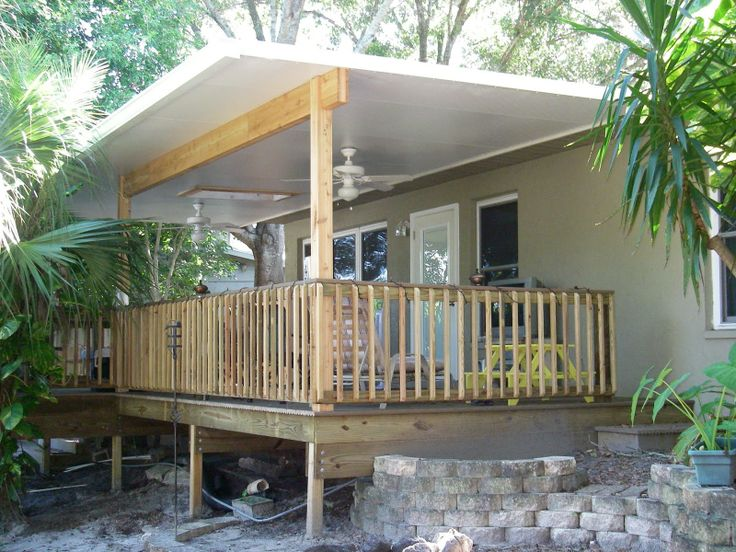 how to build a roof over a deck plans