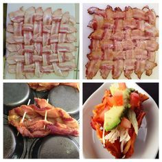 Bacon Taco Shell  #PaleoCupboard