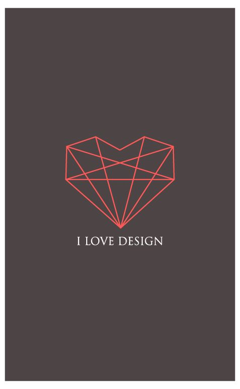 I love design | Digital art selected for the Daily Inspiration #1256