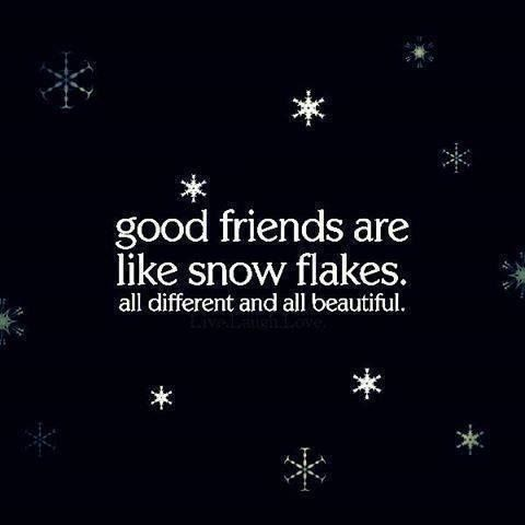 Friendship - Good friends are like snow flakes  #Beautiful, #GoodFriends, #SnowFlakes