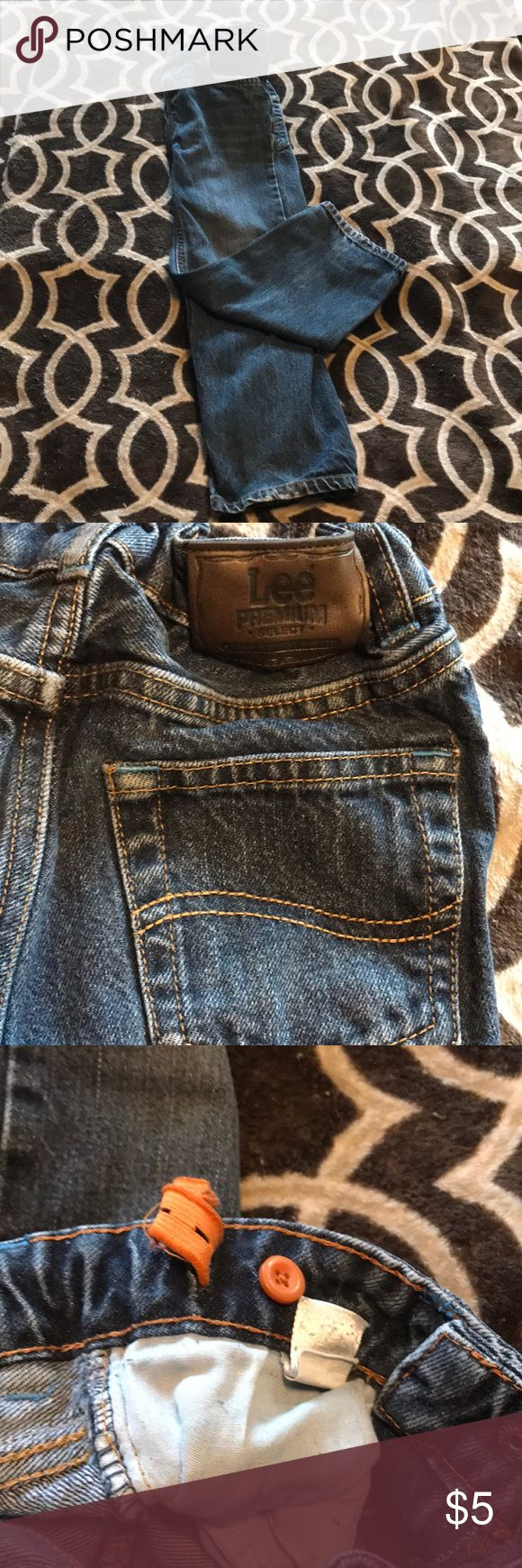 Boys Lee Jeans Boys Lee Jeans. Size 5. Adjustable waistband. Lee Bottoms Jeans