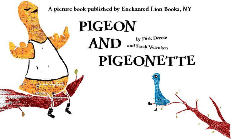 Pigeon and Pigeonette - Sarah Verroken